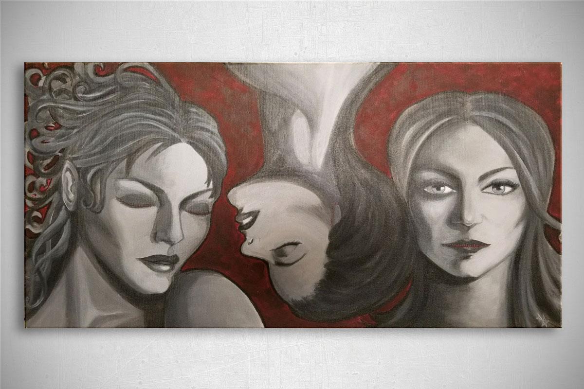 Paintings: See No Hear No Speak No